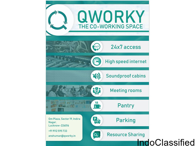 Qworky - The Coworking Space
