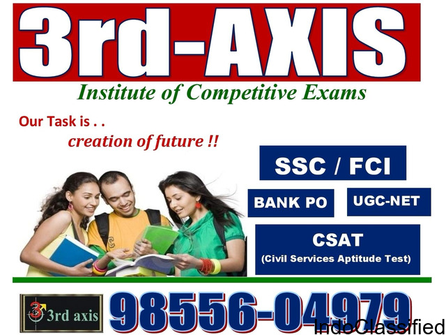 BEST Coaching For SSC CGL and BAnK PO