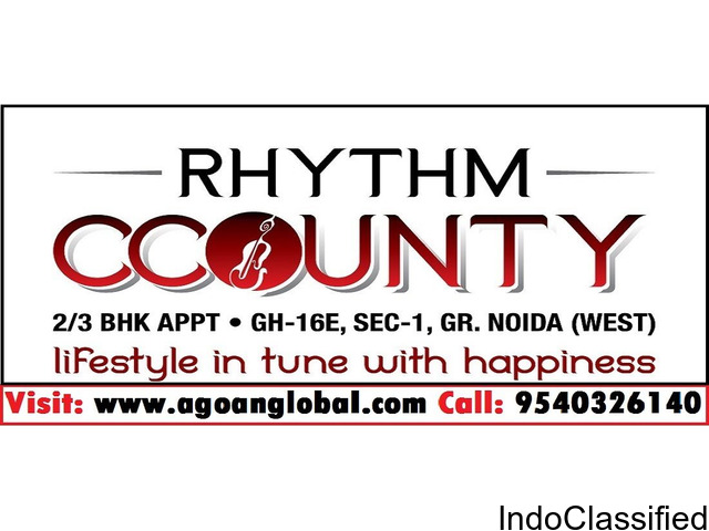 Rhythm County Noida Extension Call 9540326140 for Booking