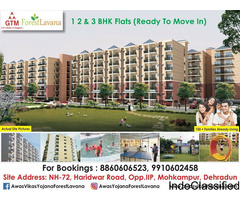 1 and 2 BHK Ready to Move Flats in Dehradun