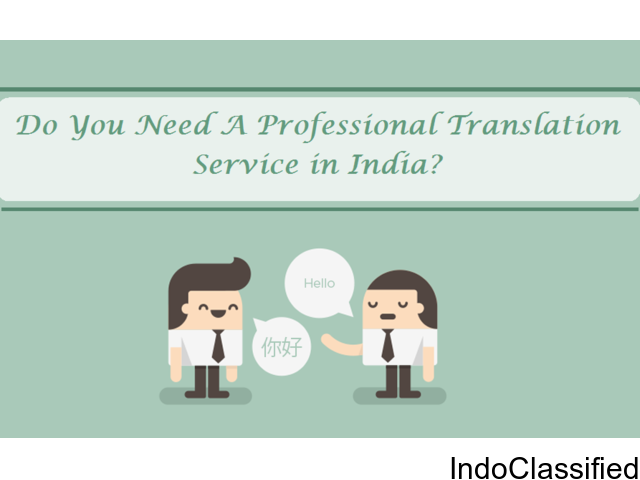 Do You Need A Professional Translation Service in India?