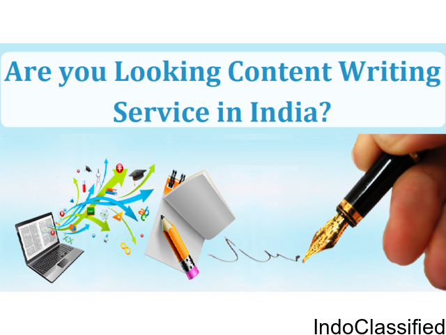 Are you looking Content Writing Service in India?