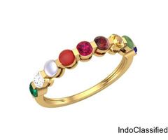 Navaratna ring for ladies