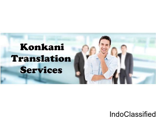 Translation Services in Konkani at Delhi