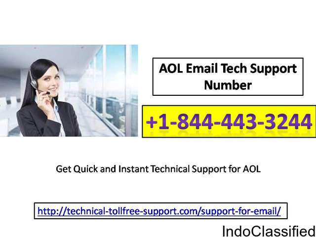 AOL Email Tech Support Number +1-844-443-3244