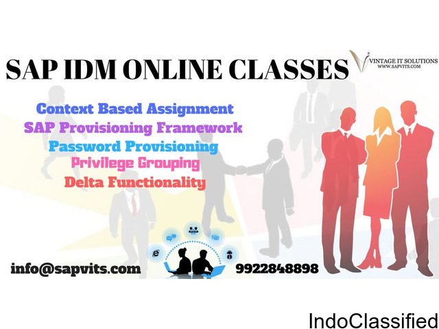 SAP IDM Online Training Material in Pune