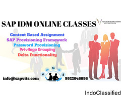 SAP IDM Online Training Material in Pune