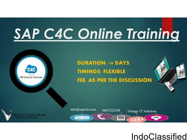SAP C4C Online Training material in Mumbai