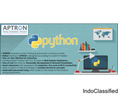 Live Project Based Python Training in Noida