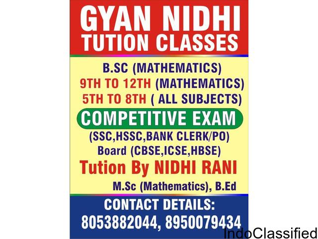 GYAN NIDHI TUITION CLASSES