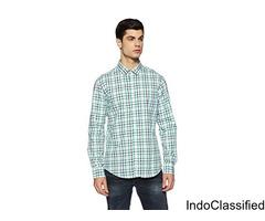 Men's Checkered Regular Fit Casual Shirt