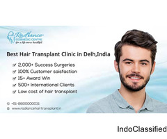 Best Hair Transplant Clinics in Delhi-NCR