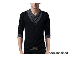 Men's Full sleeve Neck Cotton T-shirts