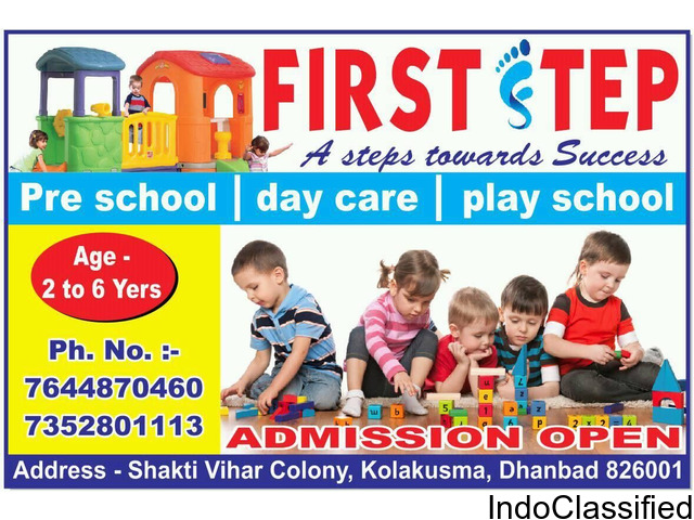 First Step Playschool Dhanbad