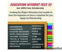COMPLETE  B.TECH  WITH 100% SCHOLARSHIP