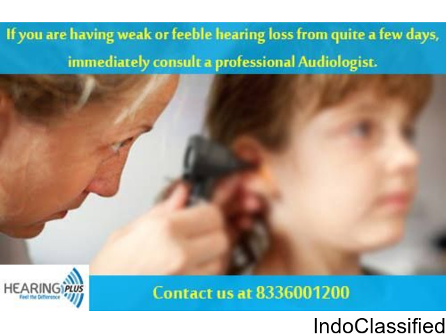 Avail the best treatment of hearing loss at Hearing Plus