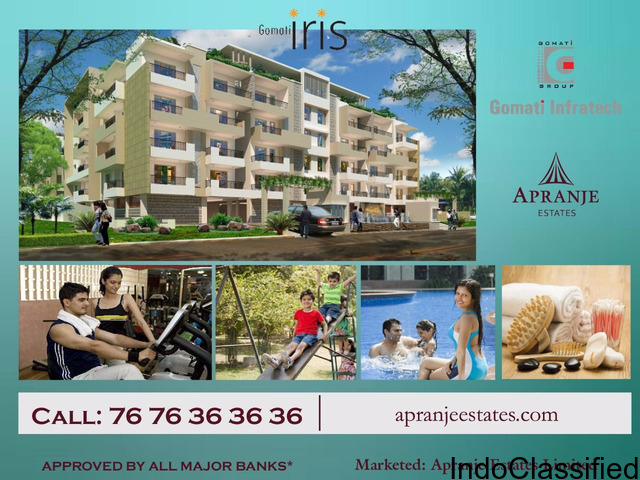 Gomati IRIS You will discover a home where your every desire would be fulfilled.