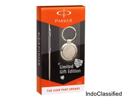 Parker Jotter SS GT Ball Pen + Key Chain