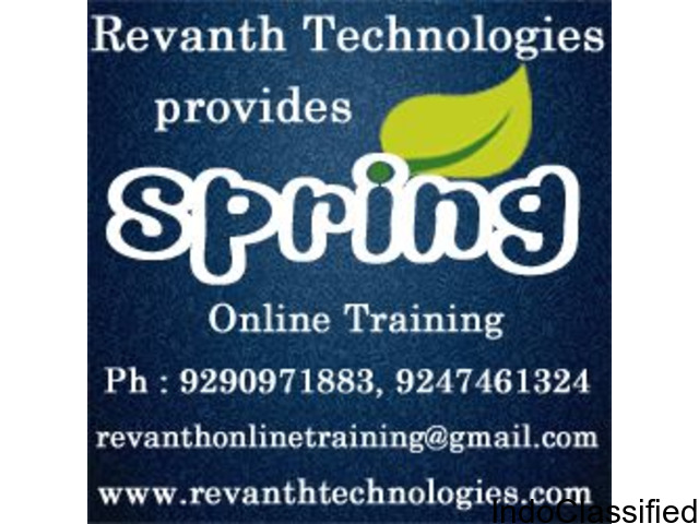 Best Spring Online Training