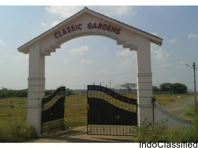 Kumbakonam town plots for sale -------Classic garden