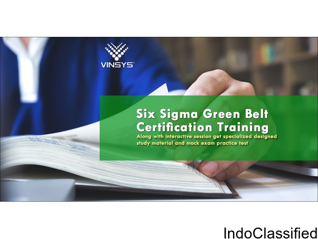 six sigma green belt certification Pune| six sigma training in pune | Vinsys