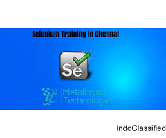 Best Selenium Course in Chennai - Training Institute in Chennai
