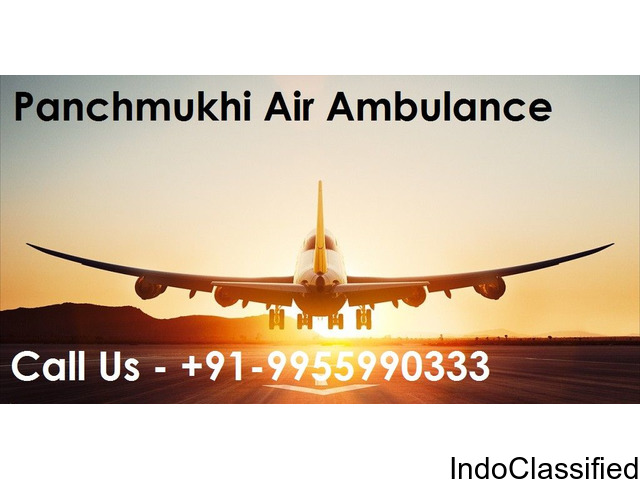 Fast Air Ambulance Services in Delhi by Panchmukhi