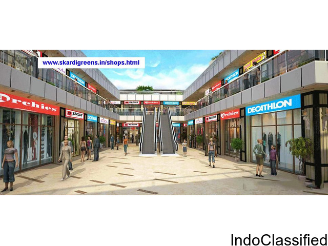 Book Commercial shops at Skardi NH-24 Ghaziabad @ Rs. 64 Lacs