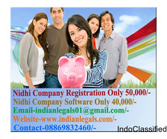 Nidhi Company Registration Is 100% Online In Bareilly Rs.50,300