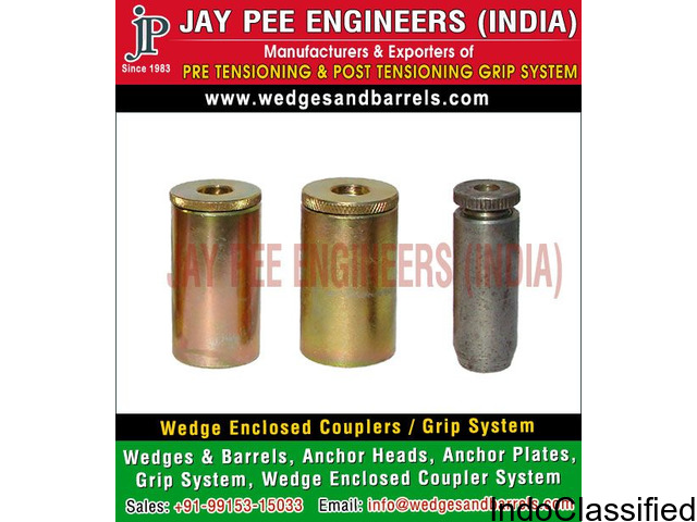 Anchor Grips Wedges Manufacturers Suppliers Exporters in India