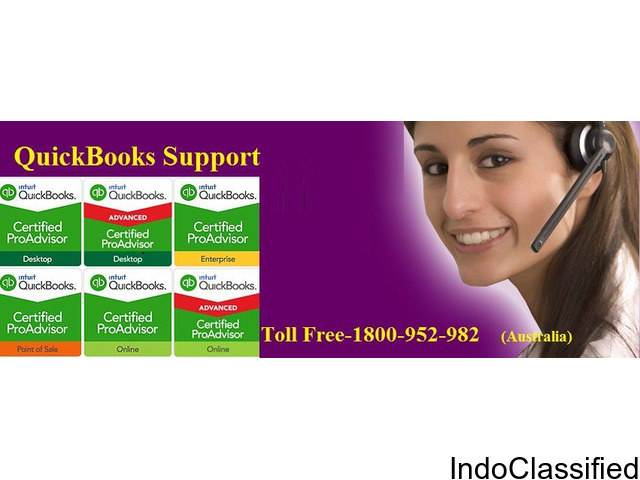 Get 24*7 Free QuickBooks Customer Support For Australia  1800-952-982