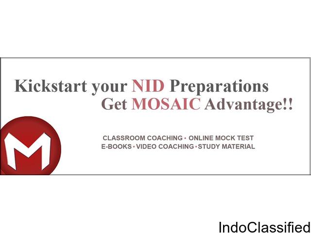 Join NID coaching class at Mosaic, Ahmedabad