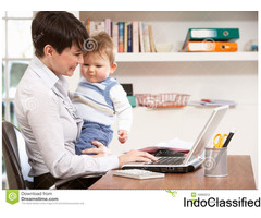 Earn a handsome salary sitting at home