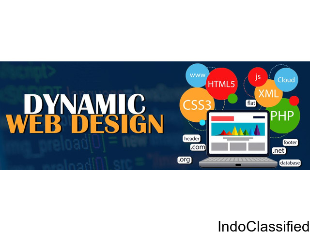 Get Dynamic website design Services with TecMaestro