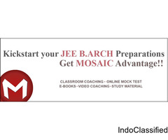 Join JEE Mains Paper 2 Classes at Mosaic