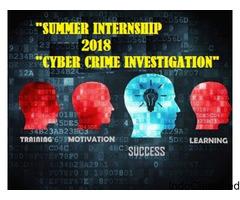 Summer Internship 2018