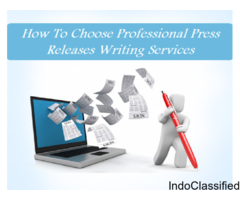 How to Choose Professional Press Releases Writing Services