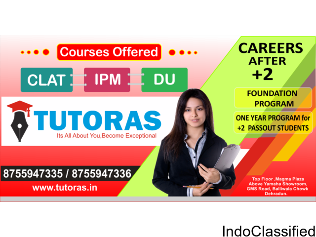 Best law(CLAT) coaching center in dehradun