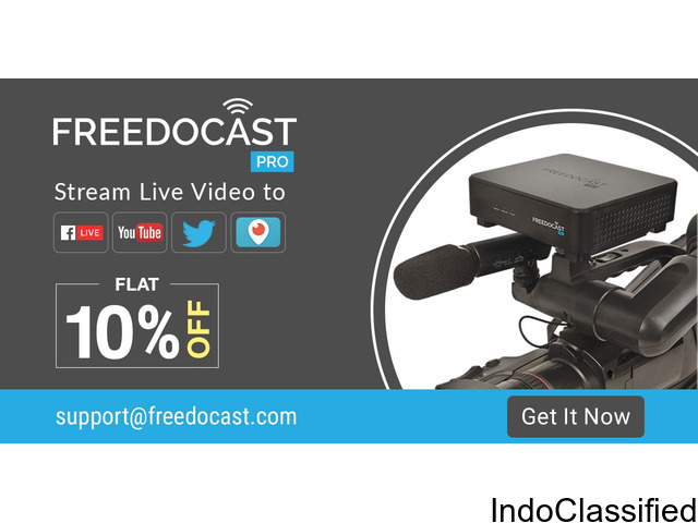 Avail Flat 10% Discount on Live Streaming Pro Device