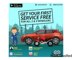 BEST CAR & BIKE REPAIR SERVICE CENTER IN JUBILEE HILLS HYDERABAD