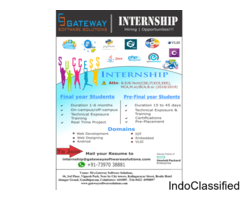 Web Development Internship DOTNET
