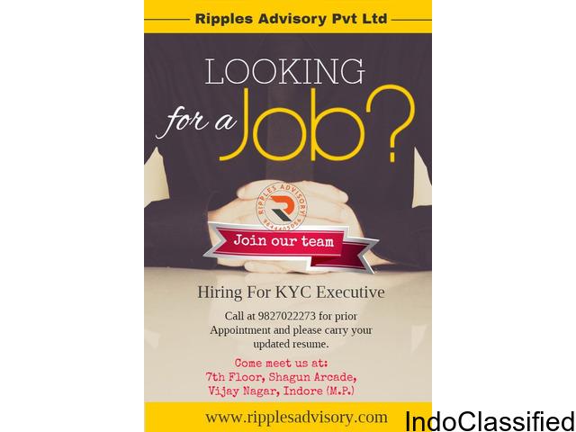 Ripples Advisory Hiring For KYC