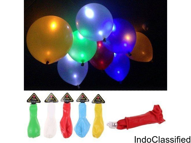 LED Balloons Pack of 25 - Multi Color