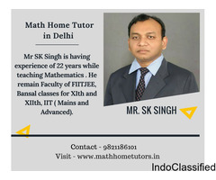 Math Home tuition in Delhi, Math Home Tutor in Delhi -mathhometutors.in