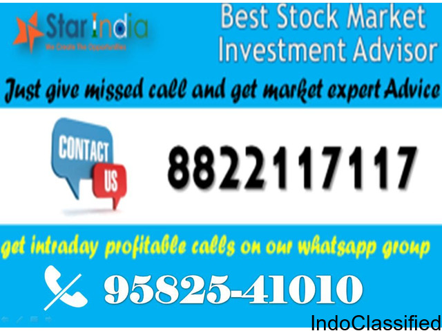 LIVE STOCK FUTURE TIPS ON MOBILE- 8822117117