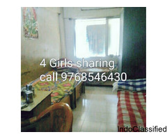 PG accommodation 4 girls sharing in santacruz Mumbai