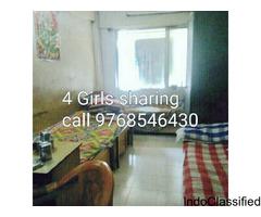 PG accommodation 4 girls sharing in santacruz Mumbai