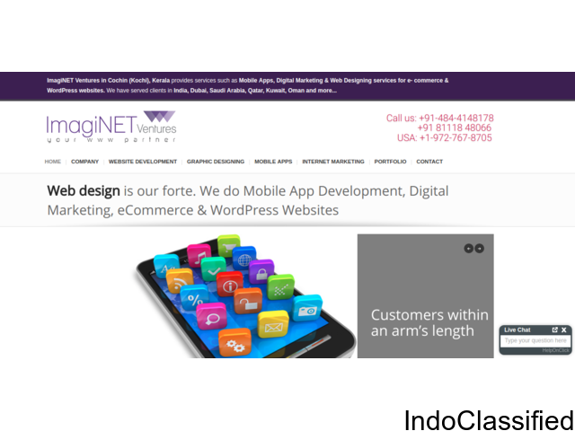 Customized web apps in Oman |  Android, ios app development in Oman