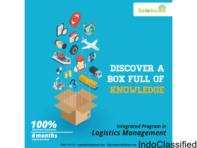 JOin logistics diploma course after graduation and job in MNC