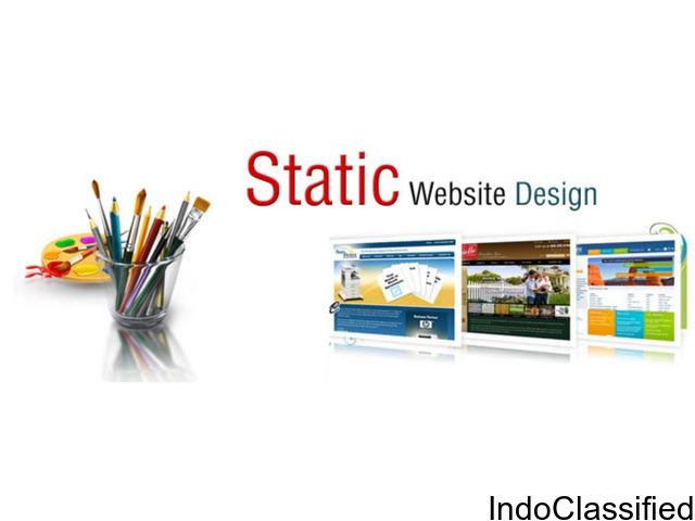 Affordable Static Website Design Services